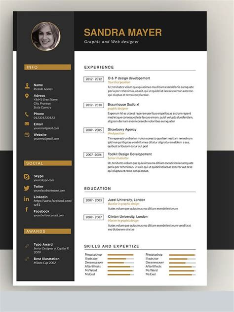 Amazing Resume Templates by 22 Best Cv Templates Downloaden Images On Cv
