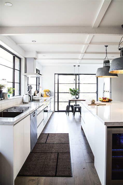 White Kitchen Lighting Industrial Style Best Lighting Ideas For Your Kitchen