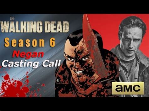 the walking dead season 5 casting call with recurring role negan casting call the walking dead season 6 spoilers