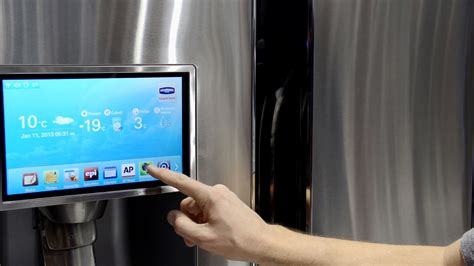 Kulkas Samsung Cool Pack i am totally cool with this samsung smart fridge gadget lab wired wired