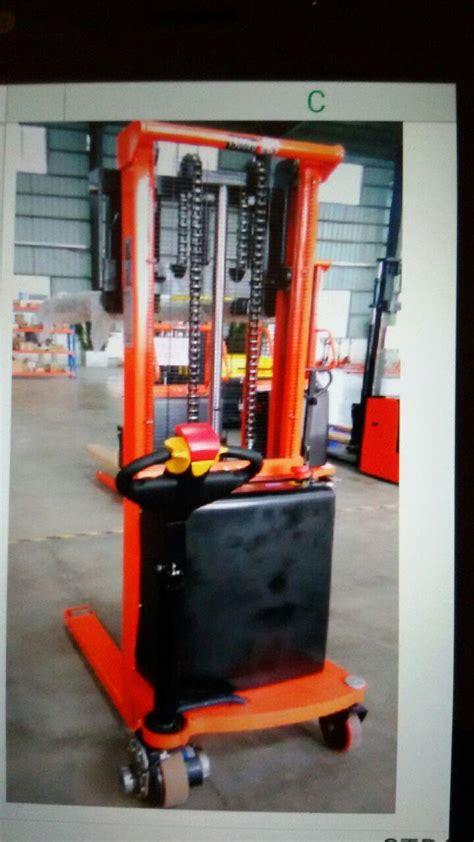 Jual Stacker Murah Berkualitas jual stacker pallet otomatis stacker lift barang harga murah jakarta oleh cv anugrah muranamaru