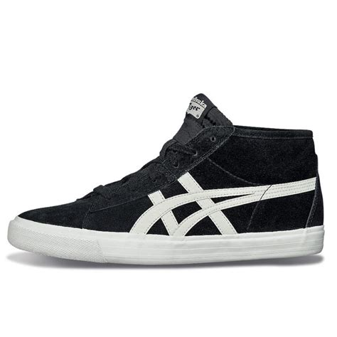 tiger sports shoes asics onitsuka tiger fader mid leather shoes sneaker hi
