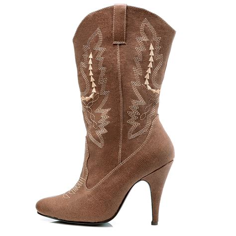 cheap brown boots at go4costumes