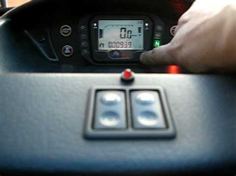 microcar mc acewell digital speedometer replacement youtube