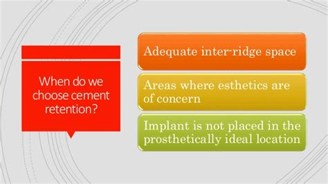 Cd E Book The Journal Of Prosthetic Dentistry vs cement retained implant prosthesis