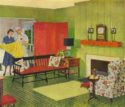 1940 home decor uncluttered decorating big craze in this era and were a