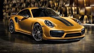 Porsche 911 Turbo S Price Stare At The Porsche 911 Turbo S Exclusive Series In New