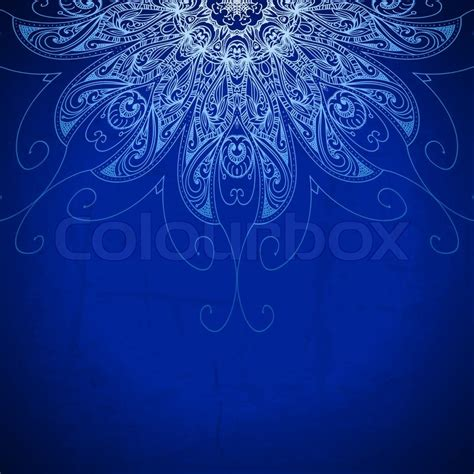 background design royal blue blue background vintage pattern hand drawn abstract