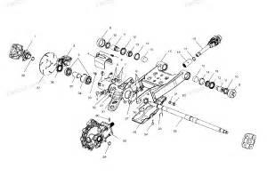 polaris atv parts 2000 a00ck42ab xpedition 425 swing armrear gearcase mounting diagram