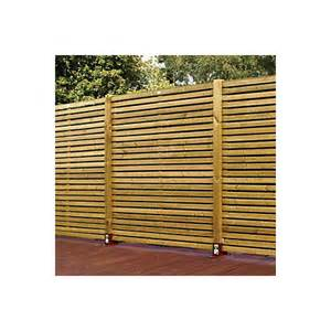 B And Q Trellis Fencing Contemporary Slatted Fence Panel W 1 79m H 1 793m Pack