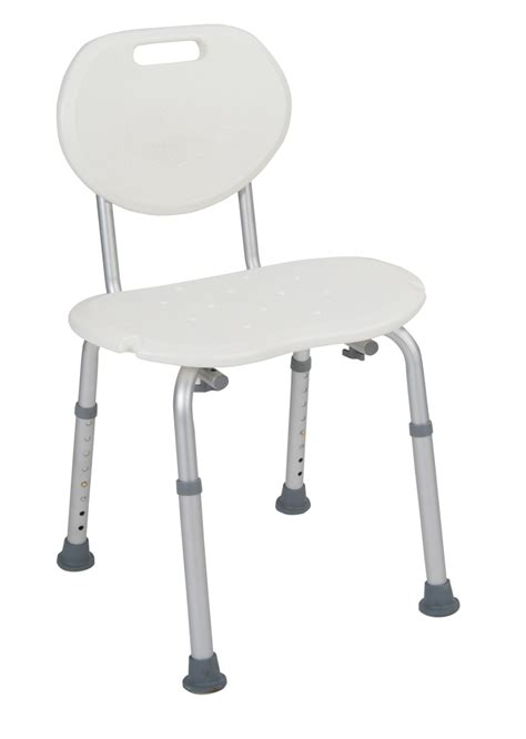 shower chair with oval back drive