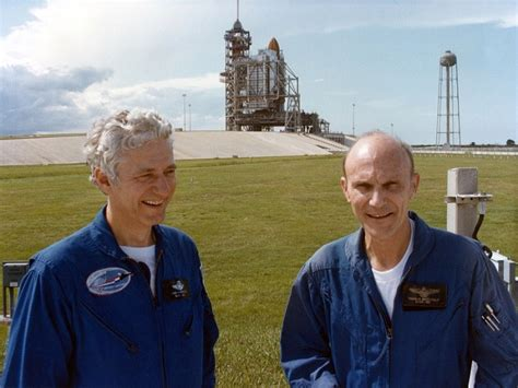 Ken Mattingly Astronaut by Hank Hartsfield Shuttle Discovery S Commander Dies