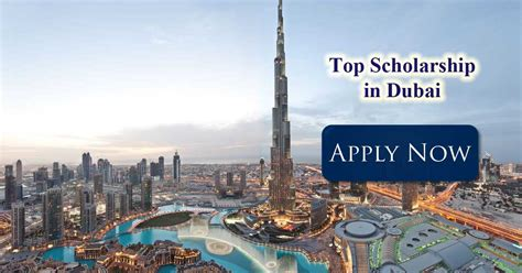 1 Year Mba In Dubai by Scholarship In Dubai Scholarshipin