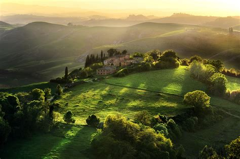 wallpapers italy toscana nature grasslands landscape photography
