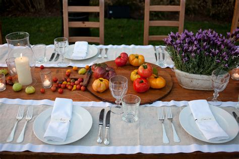 Outdoor Table Decorations For Summer   Home Design