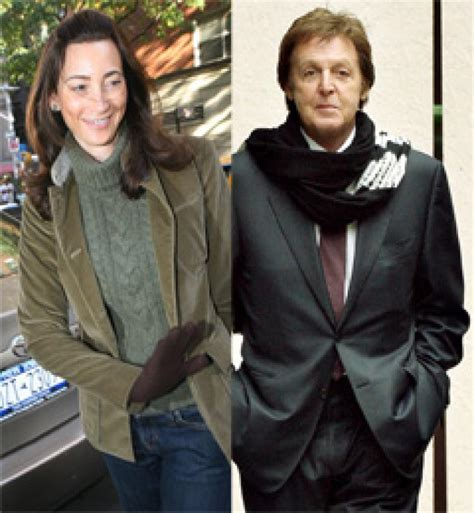 Married American Nancy Shevell Dating Mccartney Does Not Wear A Ring And Is Legally Separated From Husband by Paul Mccartney Come Together For Road Trip