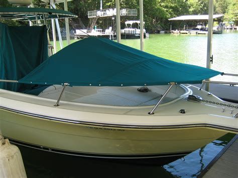 bow dodger boat made my own bow dodger the hull truth boating and