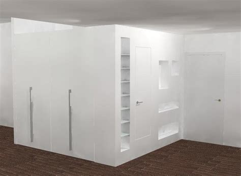 semplice tecnica per realizzare librerie armadio in cartongesso prezzi e vantaggi di questa soluzione