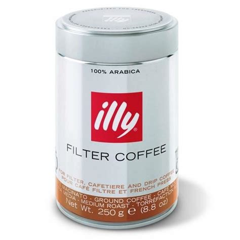 Coffee Illy illy ground filter coffee 250gr