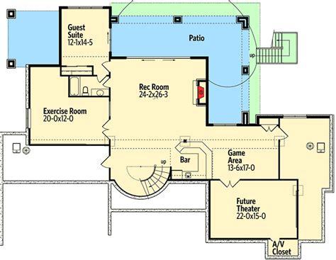 tuscan villa floor plans tuscan villa with views 9538rw architectural designs