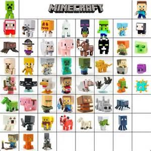 Minecraft mini figure series 1 grass amp 2 stone amp 3 netherrack loose