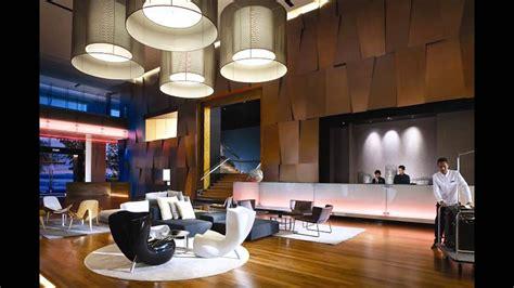 modern hotel lobby designs  stylish interior