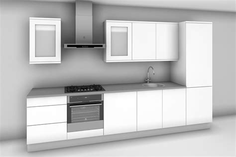 Kitchen Unit Layouts 163 1 811 Ex Vat Run Kitchen In Ayton Light Grey