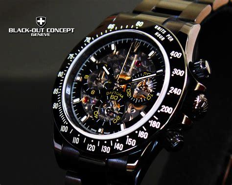 black rolex black rolex daytona dlc pvd watch custom dial