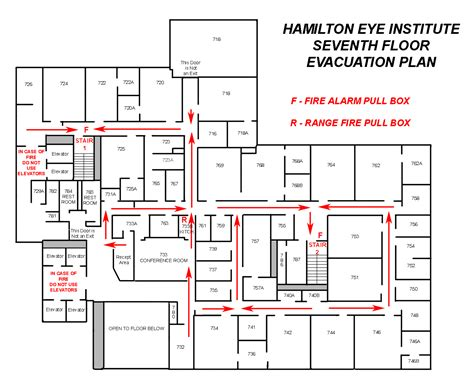 fire evacuation floor plan exit maps my blog