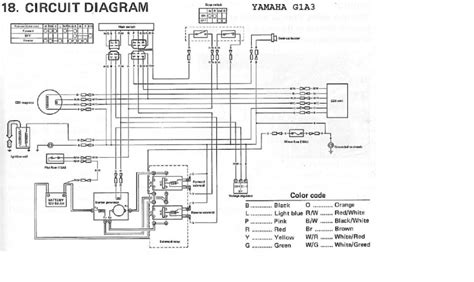 yamaha g19 golf cart wiring diagram wiring diagram with