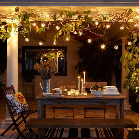 ambiance with indoor string lighting home sweet home