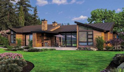 contemporary house plans single single contemporary house plan 69402am