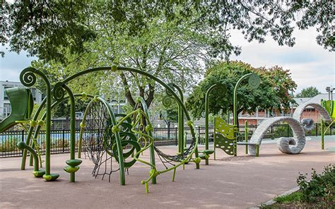 Future Building Designs The Best City Playgrounds Are Innovative Accessible And