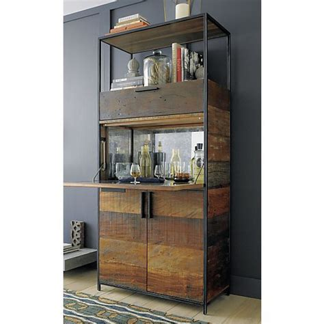 bar cabinets clive bar cabinet crate and barrel drinks cabinet