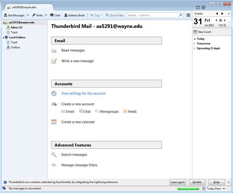 Office 365 Pop Settings by Thunderbird Office 365 Pop Setti