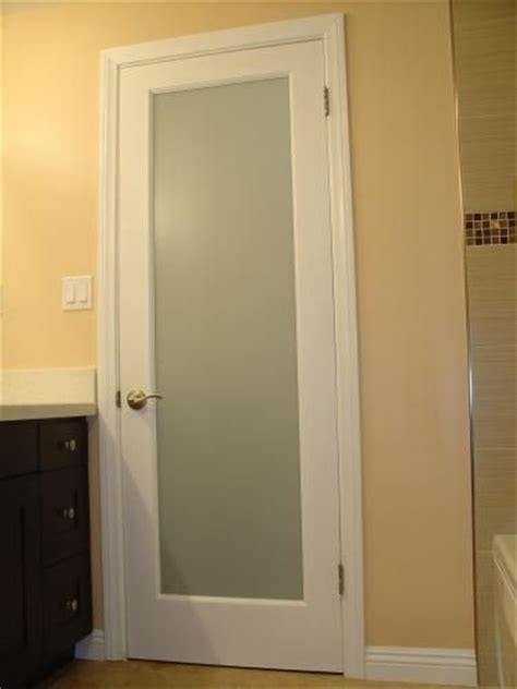 Interior Bathroom Doors by Frosted Glass Glass Bathroom And Doors On