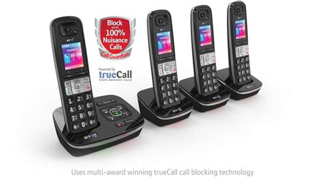 bt8500 advanced call blocker cordless home phone