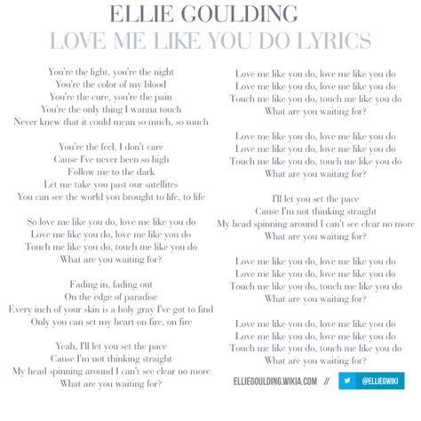 love me like you do lyrics image love me like you do lyrics png ellie goulding