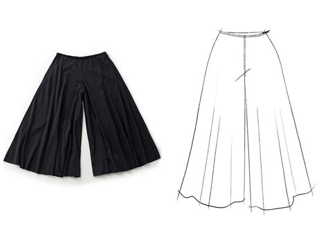 pattern making of palazzo pants diy garments archives alabama chanin journal