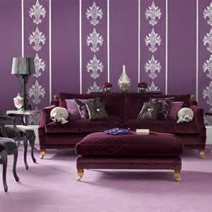 purple livingroom pause for something pretty in purple in my
