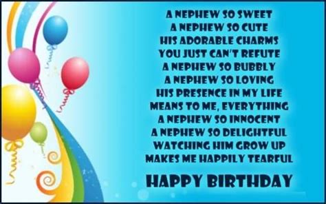 2nd Birthday Quotes For Nephew Birthday Wishes For Nephew Page 20 Nicewishes Com