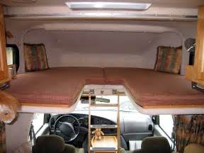 rv bedding beds in motorhome cab over twin bed storage net jpg cleaning pinterest rv