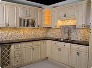 bisque kitchen display traditional kitchen other