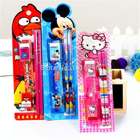 stationery supplies cartoon novelty cute children