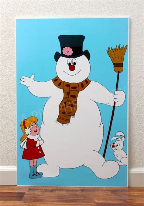frosty the snowman frosty the snowman standee