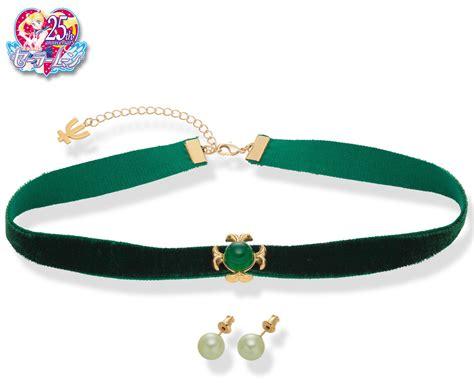 Sailormoon Choker sailor uranus sailor neptune choker and earrings setsailor moon collectibles