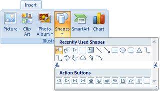 membuat tombol navigasi powerpoint membuat tombol actions pada powerpoint 2007 jimeowams