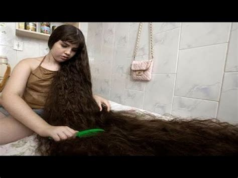 youtube the woman with the longest pubic hair in the world the sisters with the longest hair in the world youtube