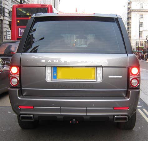 range rover back rear bumper for range rover l322 exterior design pack