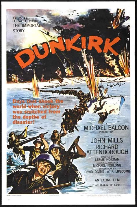 the film dunkirk 1958 operation dynamo all about war movies
